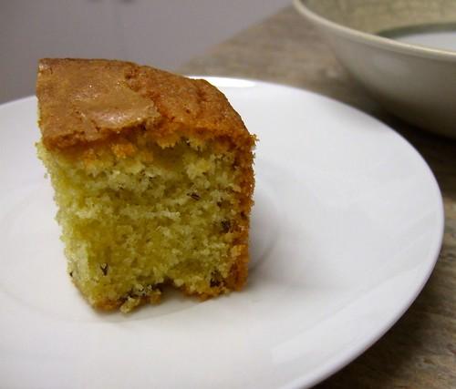 seed cake slice
