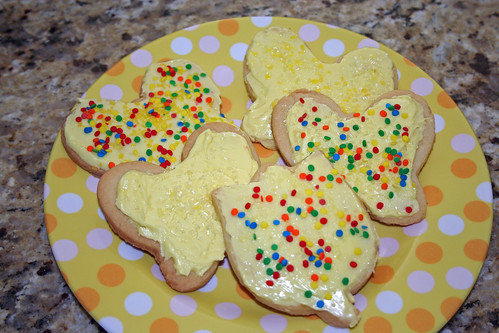 Yellow sugar cookies