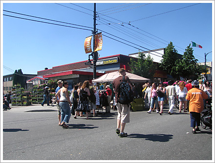 Car Free Commercial Drive 2008 home hardware