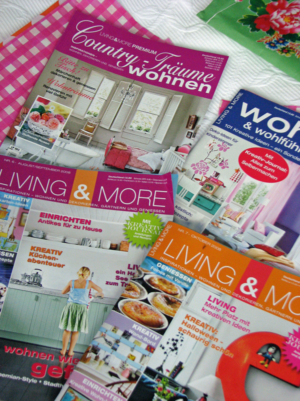 Living & More = Magazine Heaven