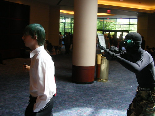 Cosplay - AWA14 - Ninja stalking by mikemol
