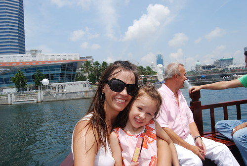 Merlion Boat Ride