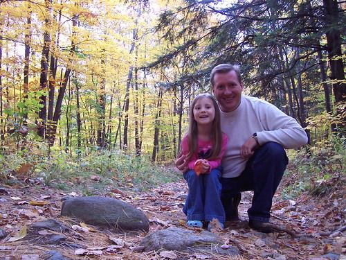 Along the Toungue Mountain Range Trail in the Adirondacks