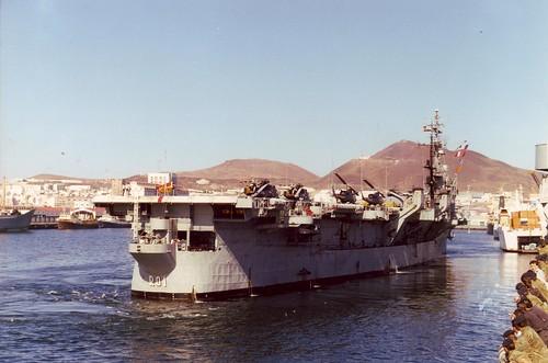 "Portaaviones 'Dédalo"" (former USS Cabot CVL-28)"