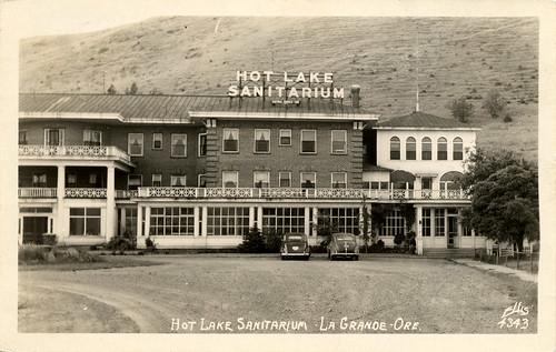 Hot Lake Sanitorium in its heyday