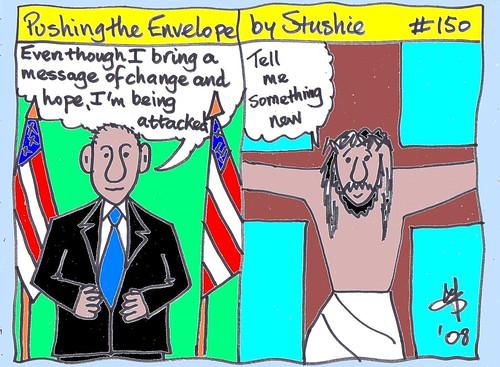 Obama and Christ