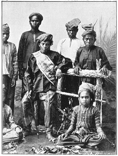 Mindanao Datu boy men in traditional costume Philippine old pictures photograph black and white Philippines Buhay Pinoy Filipino Pilipino  people photos life Philippinen