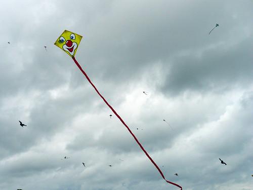 Frida's tiny clown kite