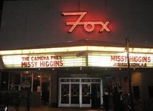 Missy Higgins marquee