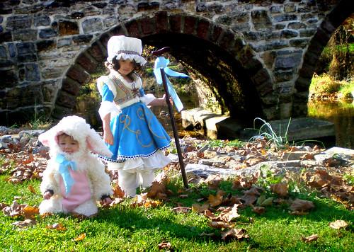 bo peep and sheep costume