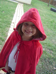 K. as Little Red Riding Hood