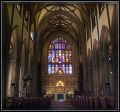 Trinity Church (interior), New York City