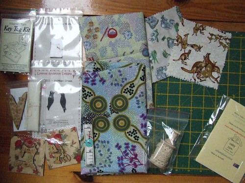 Buttons Fabrics and stitcheries