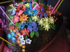 Homemade 60th birtday cake