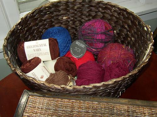 Rummage sale yarn find!