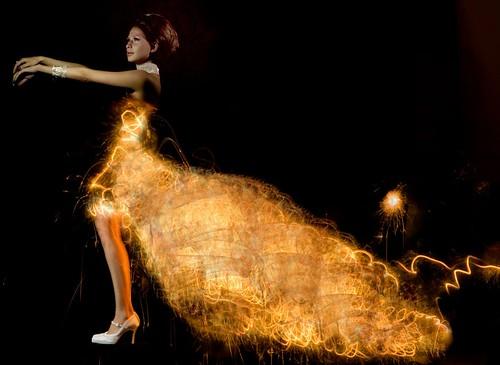 vestido de luz