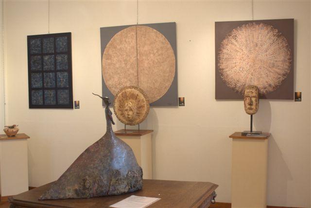 exposition d'art abstrait à la galerie l'Esquisse 3969