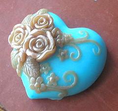 Victorian Heart Soap