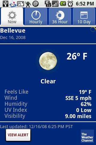 Wow, it's freezing (literally)