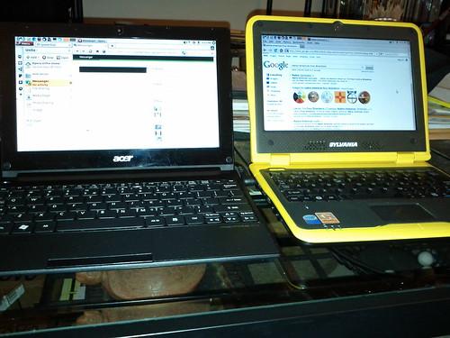 Dueling Netbooks