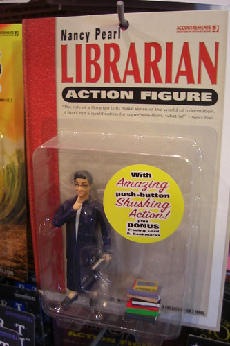 Librarian Action Figure!