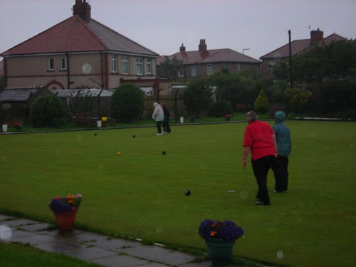 Bowling in the rain