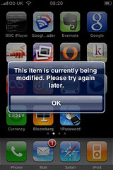 iPhone App Update Errors