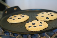 Pancakes on the skillet