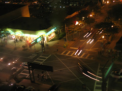Nightlife on Beach Street USA