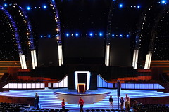 Podium From Center Camera Platform