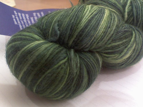 lace weight malabgrigo in Verdes better color