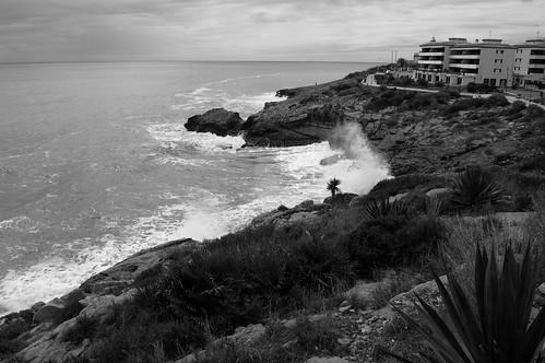 La costa en gris (II)