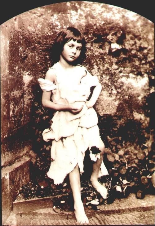 Lewis Carroll, Alice Pleasance Liddell, The Beggar Maid, 1858 via skipofgorth
