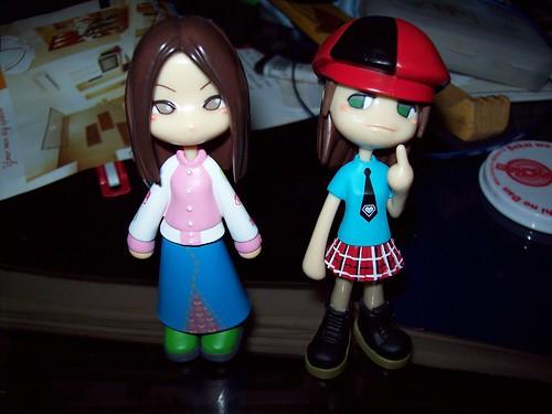 Reina and SL Tamae join my Pinky Street girls