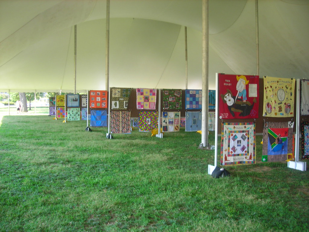 Rows of Quilts