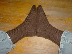 Whitby Socks - Done
