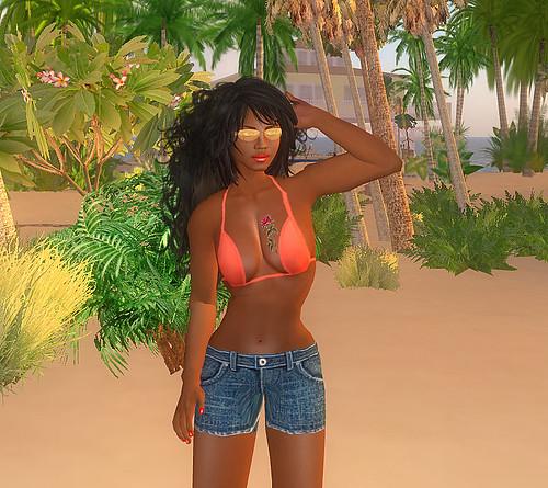 Beach wear on Nowhereville