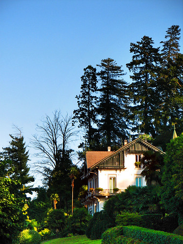 One of many villas on the hill by you.