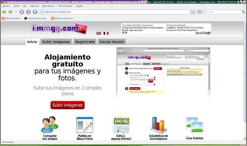 hosting y editor de imágenes online