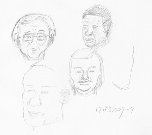 Drawing Leo Laporte - MBW 2009-02-17-b