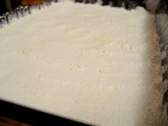 rhubarb square crust