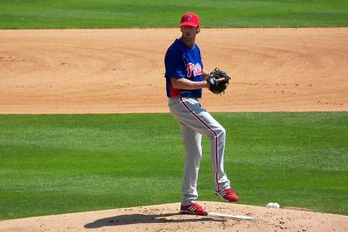 Ace Cole Hamels is the latest to sign long-term with the team he loves (BernMarsh/Flickr).