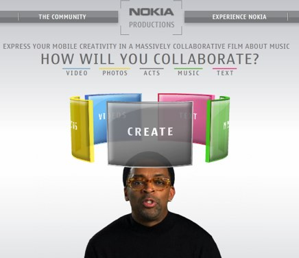 Nokia Productions film project with Spike Lee