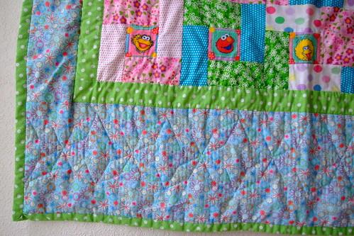 quilt border closeup
