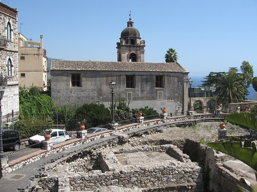 The church of San Pancrazio