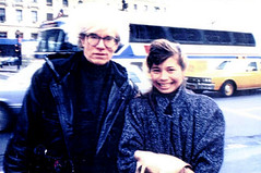Andy Warhol and Jo MyLastBite.com