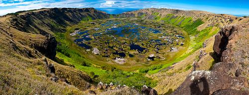 Der Krater Rano Kau