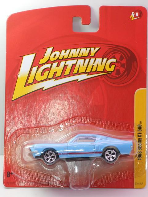 johnny Lightning 1968 shelby gt-500 baby blue (1)