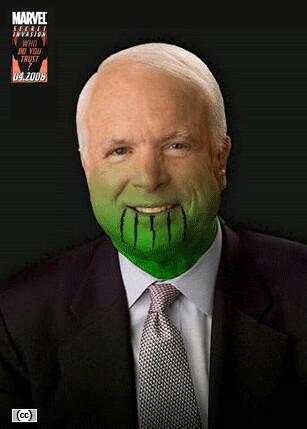 McCain Skrull Variant Cover