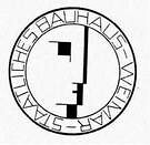 Oskar Schlemmer. Marca de imprenta del sello oficial de la Bauhaus. 1922.